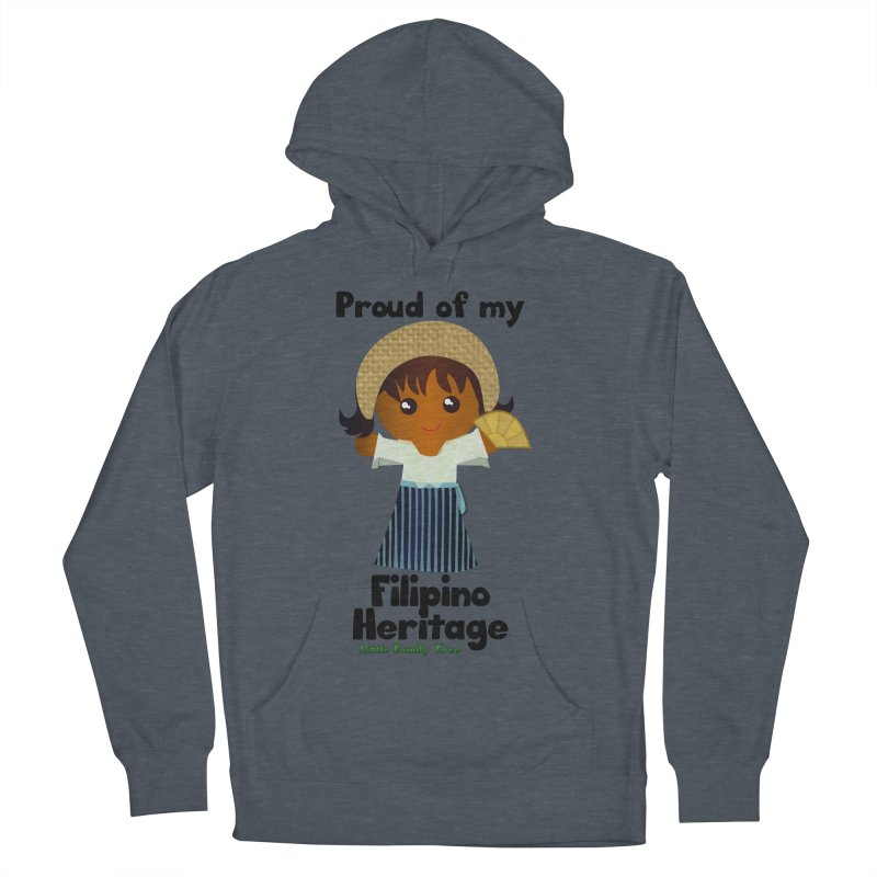 Filipino Heritage Girl Women's Pullover Hoody by Yellow Fork Tech's Shop