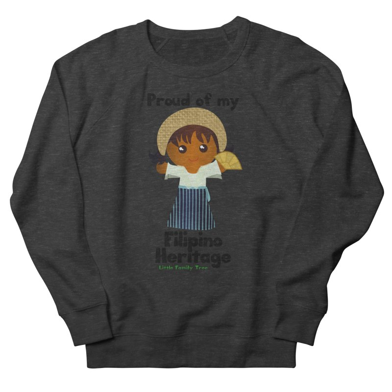 Filipino Heritage Girl Women's Sweatshirt by Yellow Fork Tech's Shop