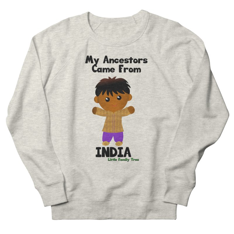 India Ancestors Boy Men's Sweatshirt by Yellow Fork Tech's Shop