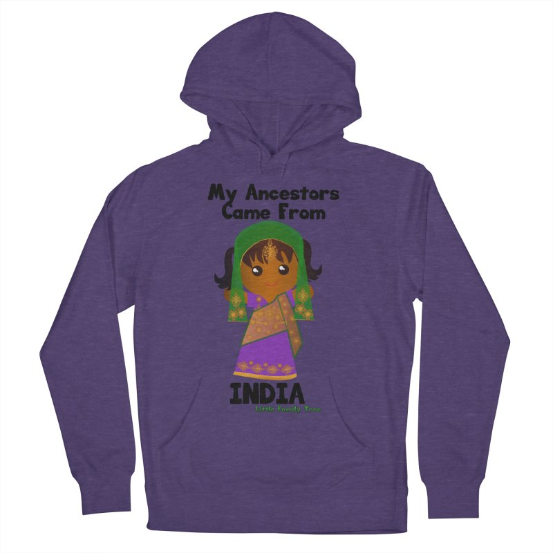 India Ancestors Girl Women's Pullover Hoody by Yellow Fork Tech's Shop
