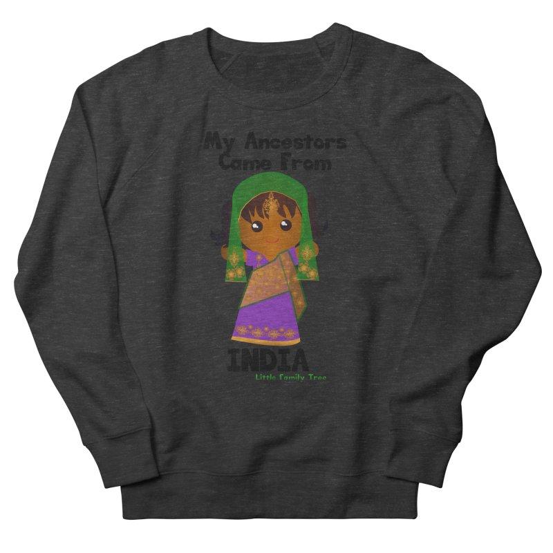 India Ancestors Girl Women's Sweatshirt by Yellow Fork Tech's Shop