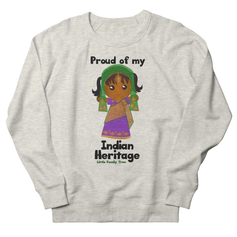 Indian Heritage Girl Women's Sweatshirt by Yellow Fork Tech's Shop