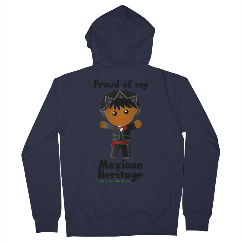 Mexican Heritage Boy Men's Zip-Up Hoody by Yellow Fork Tech's Shop