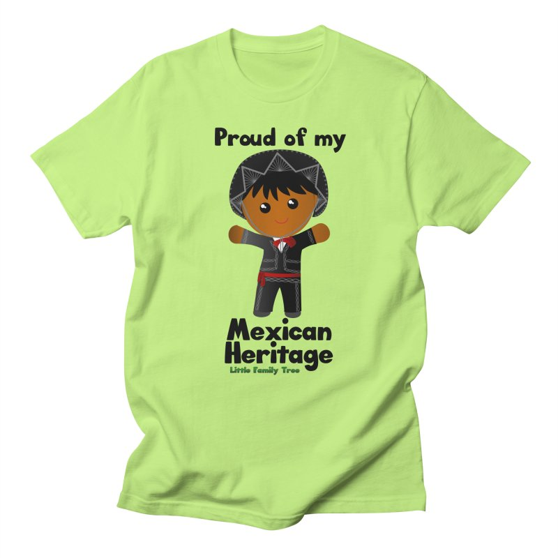 Mexican Heritage Boy Men's T-Shirt by Yellow Fork Tech's Shop