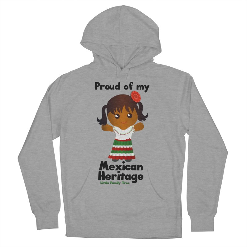 Mexican Heritage Girl Women's Pullover Hoody by Yellow Fork Tech's Shop