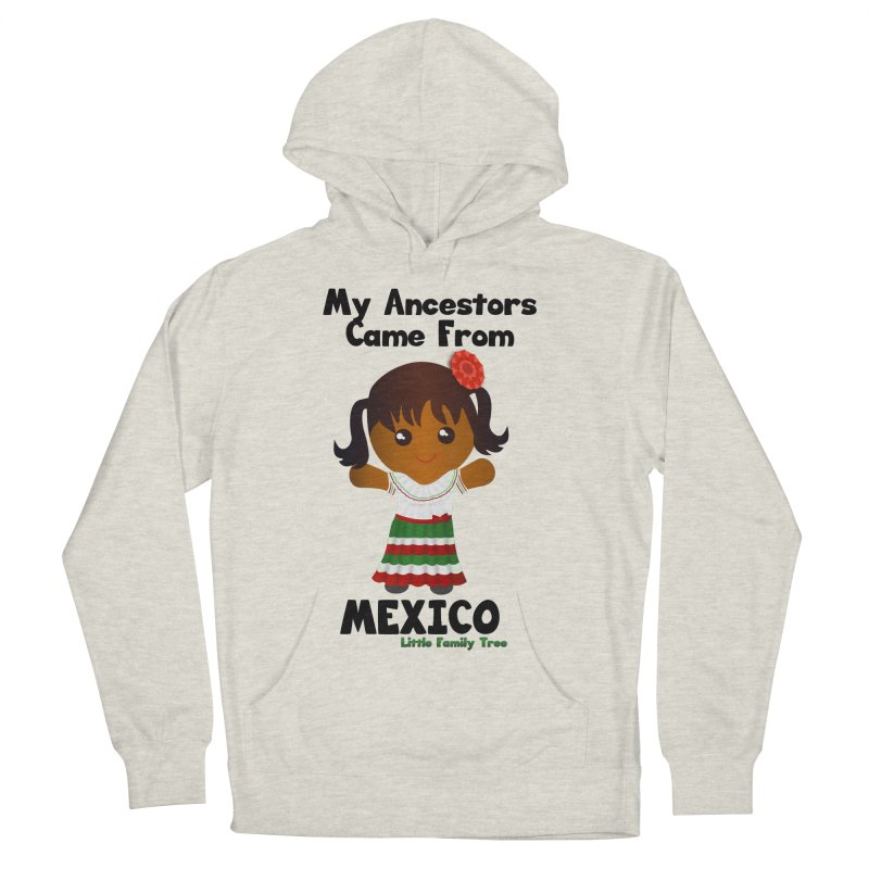 Mexico Ancestors Girl Women's Pullover Hoody by Yellow Fork Tech's Shop