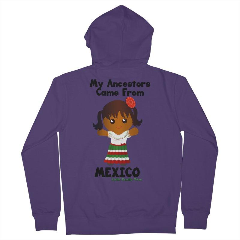 Mexico Ancestors Girl Women's Zip-Up Hoody by Yellow Fork Tech's Shop