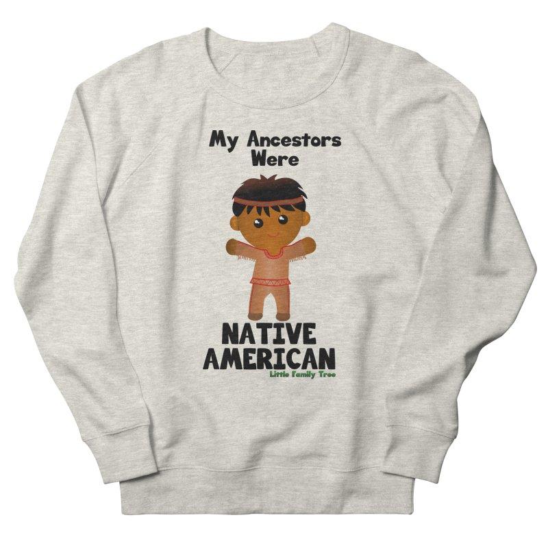 Native American Ancestors Boy Men's Sweatshirt by Yellow Fork Tech's Shop