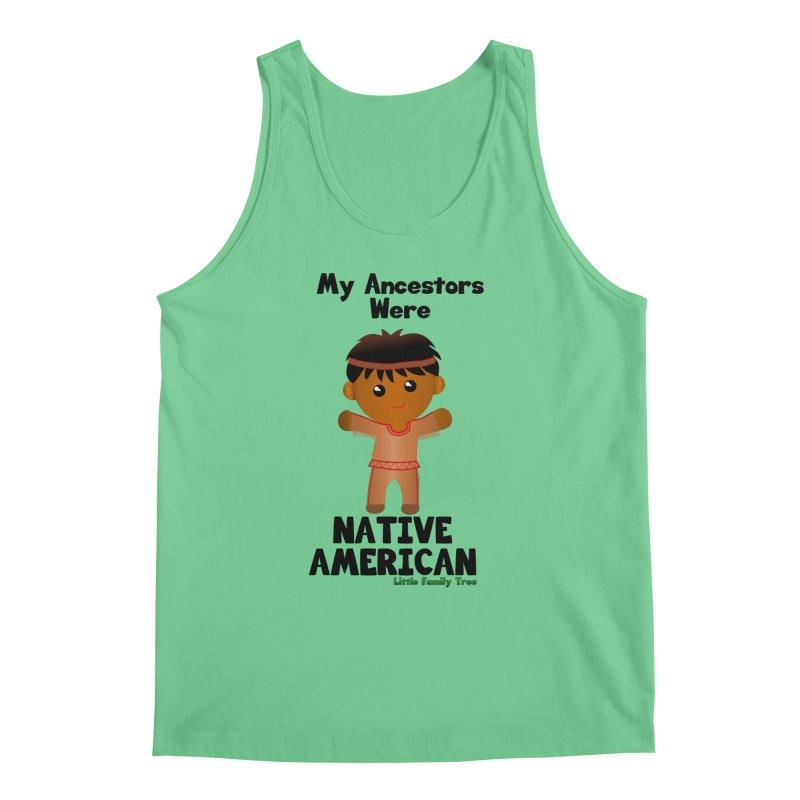 Native American Ancestors Boy Men's Tank by Yellow Fork Tech's Shop