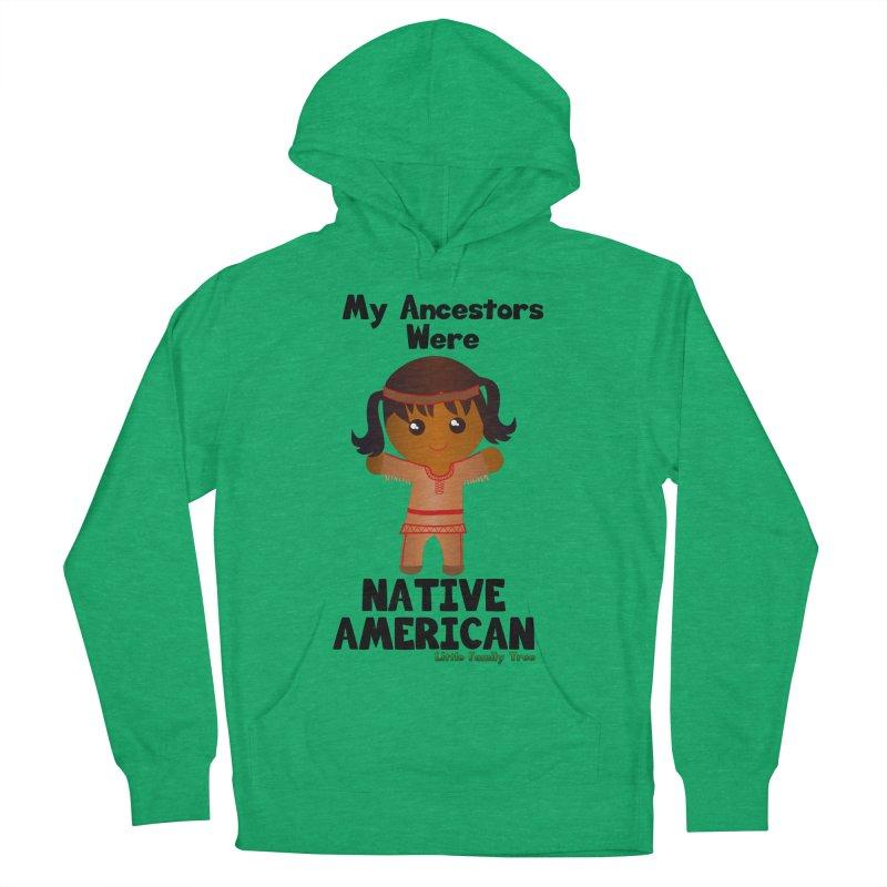 Native American Ancestors Girl Women's Pullover Hoody by Yellow Fork Tech's Shop