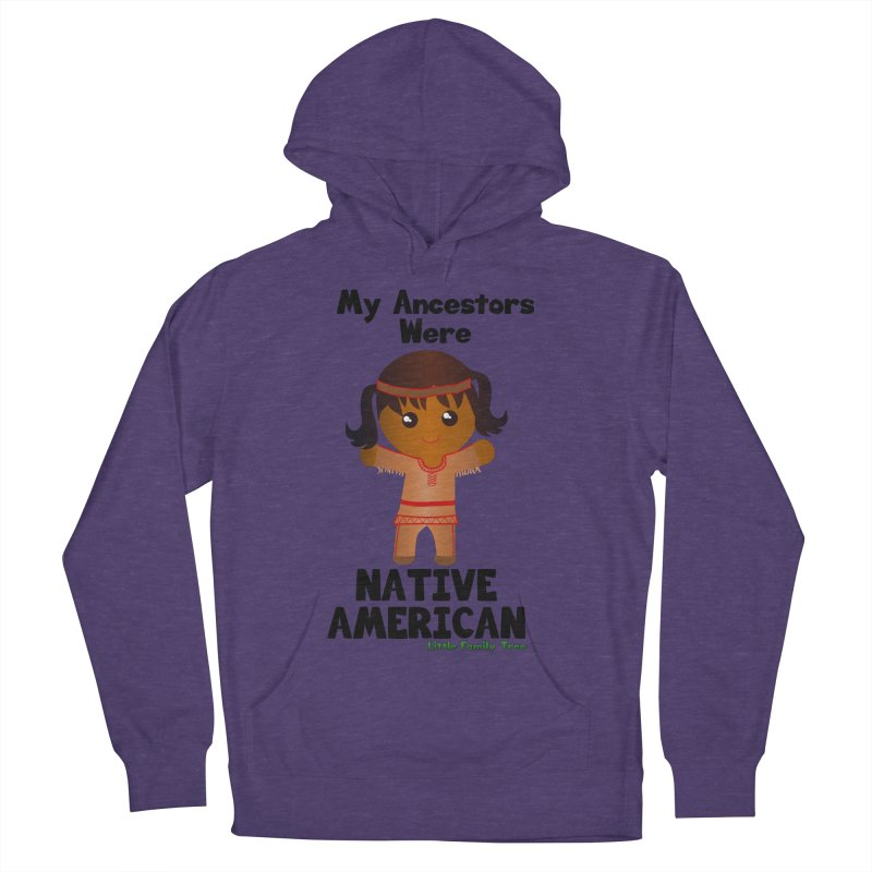 Native American Ancestors Girl Women's Pullover Hoody by Yellow Fork Tech's Shop