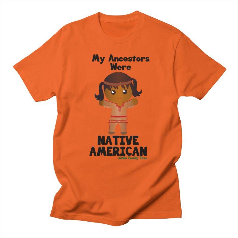 Native American Ancestors Girl Women's Unisex T-Shirt by Yellow Fork Tech's Shop