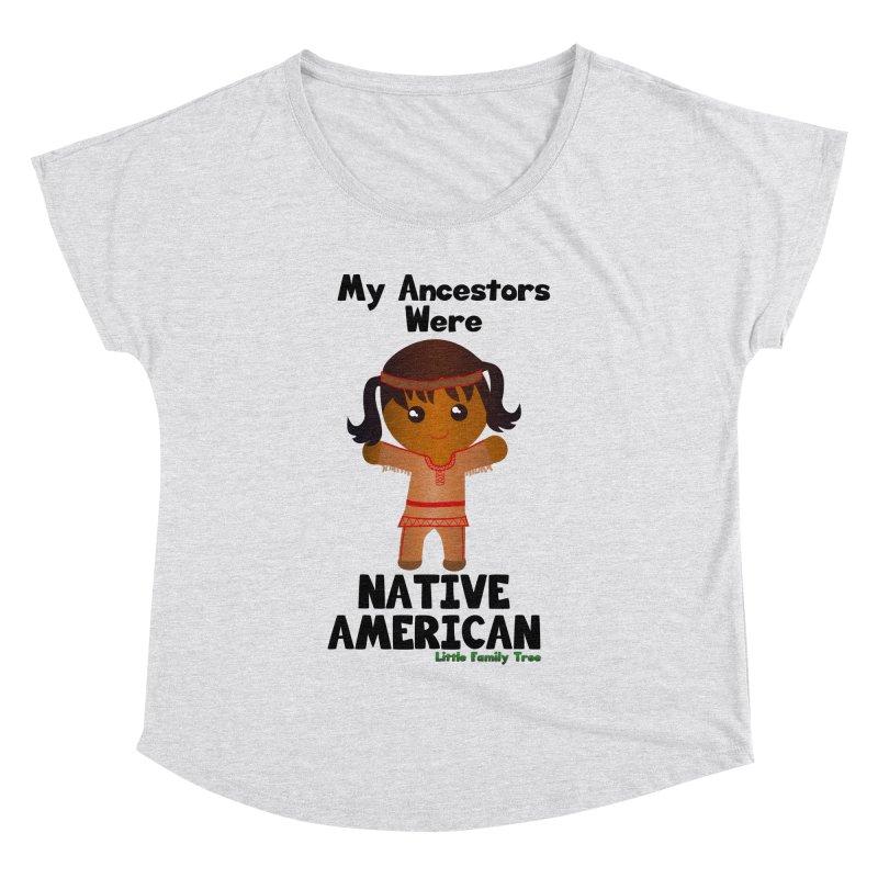 Native American Ancestors Girl Women's Dolman by Yellow Fork Tech's Shop