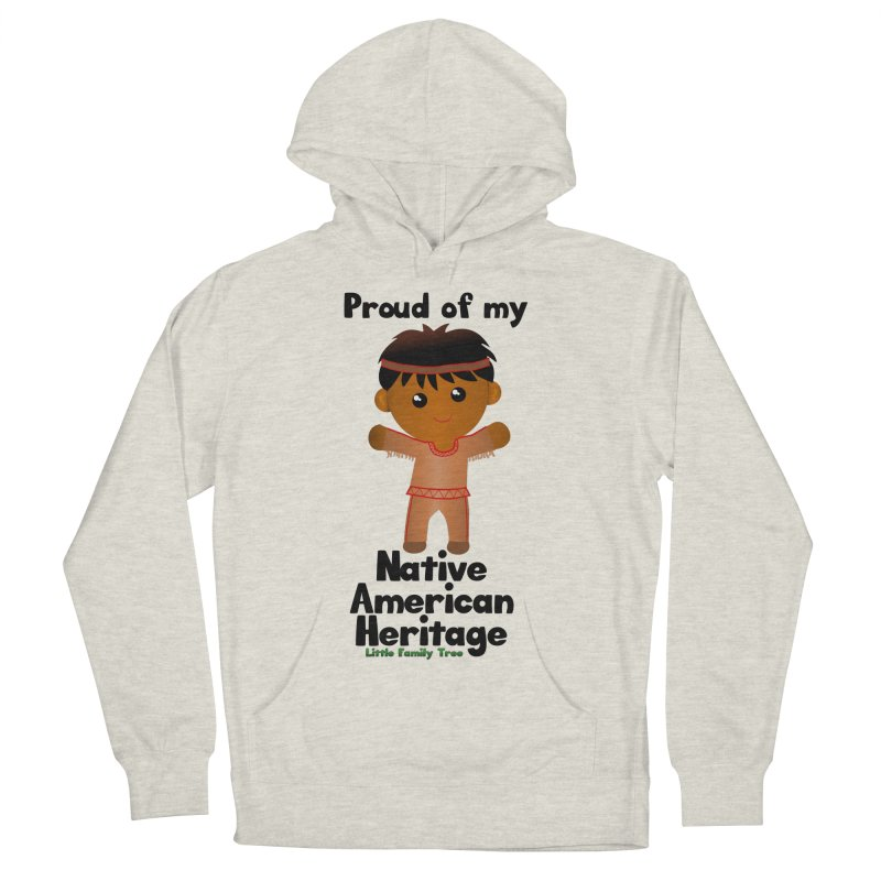 Native American Heritage Boy Men's Pullover Hoody by Yellow Fork Tech's Shop