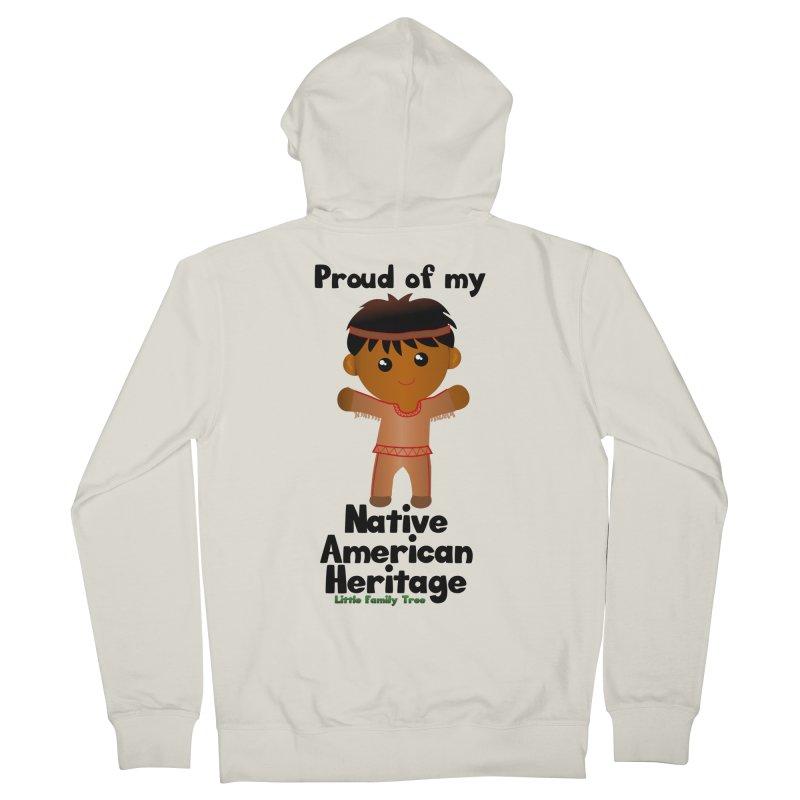 Native American Heritage Boy Men's Zip-Up Hoody by Yellow Fork Tech's Shop