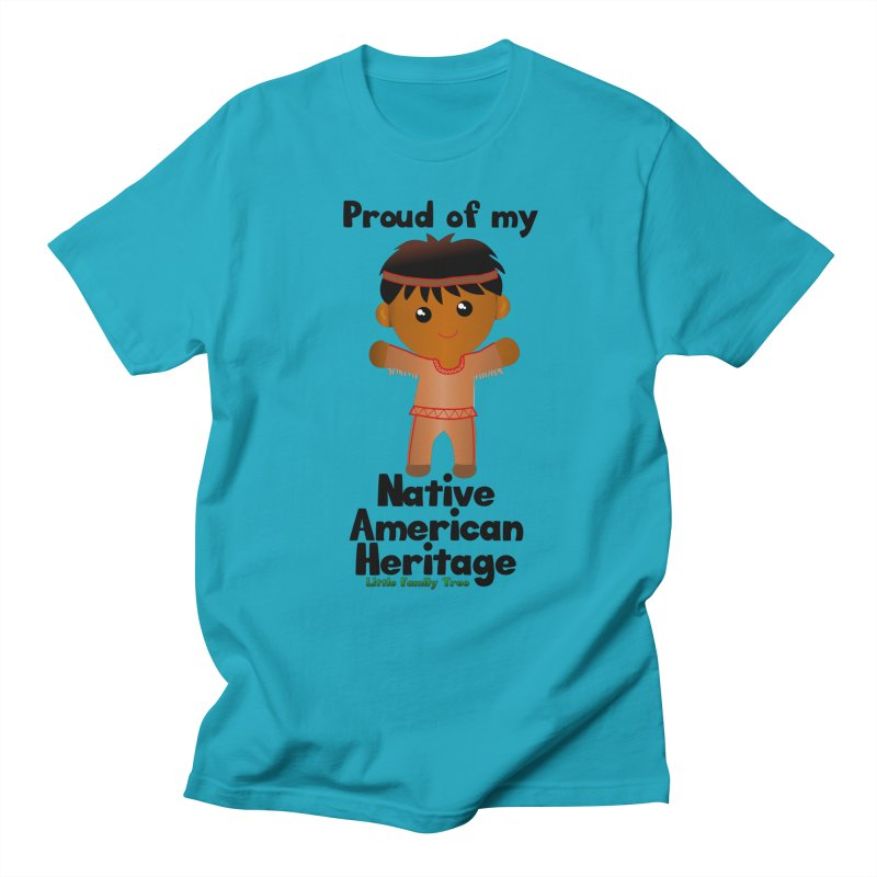 Native American Heritage Boy Men's T-Shirt by Yellow Fork Tech's Shop