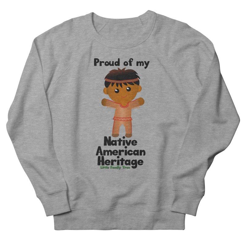 Native American Heritage Boy Men's Sweatshirt by Yellow Fork Tech's Shop