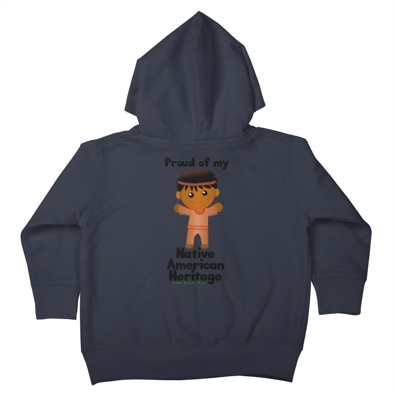Native American Heritage Boy Kids Toddler Zip-Up Hoody by Yellow Fork Tech's Shop