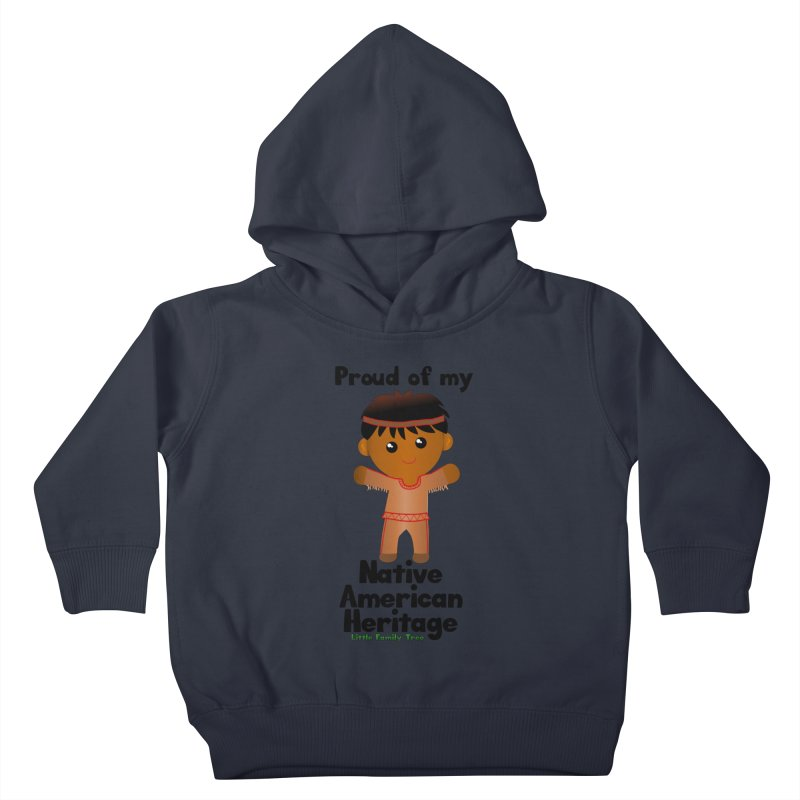 Native American Heritage Boy Kids Toddler Pullover Hoody by Yellow Fork Tech's Shop