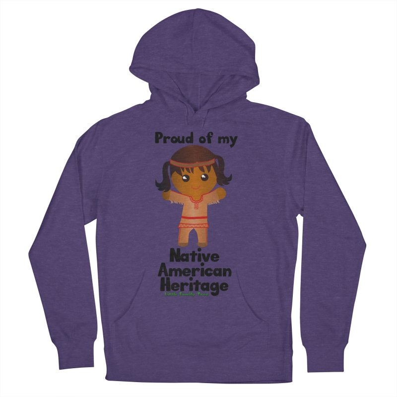 Native American Heritage Girl Women's Pullover Hoody by Yellow Fork Tech's Shop