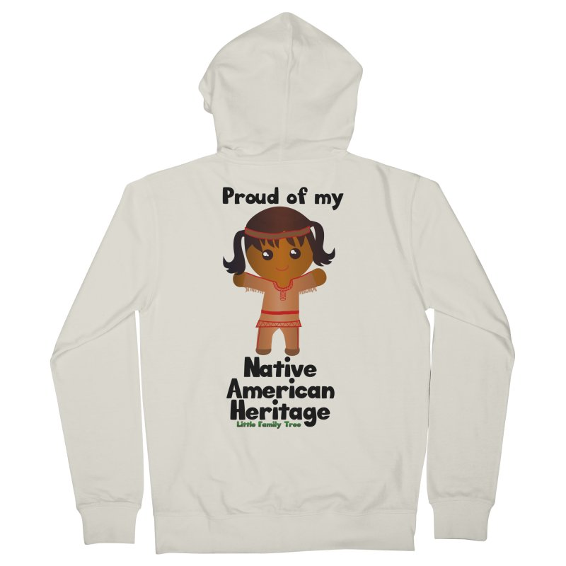 Native American Heritage Girl Women's Zip-Up Hoody by Yellow Fork Tech's Shop