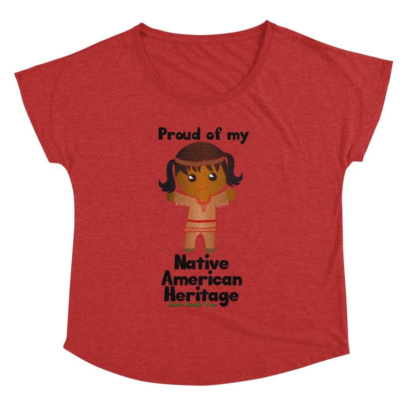 Native American Heritage Girl Women's Dolman by Yellow Fork Tech's Shop