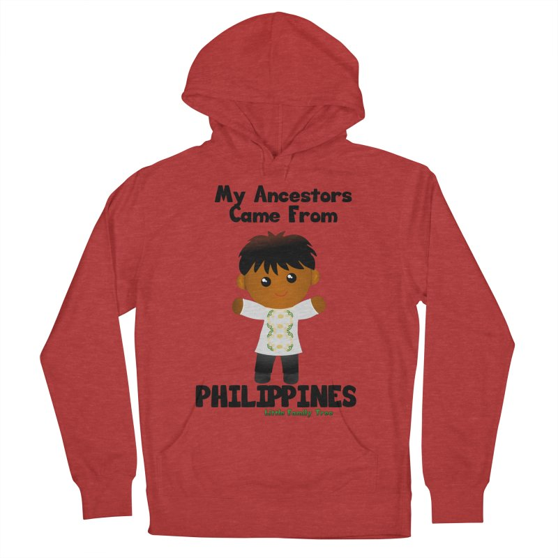 Philippines Ancestors Boy Men's Pullover Hoody by Yellow Fork Tech's Shop