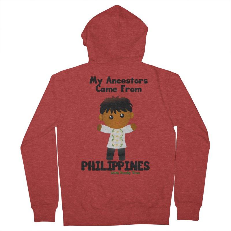 Philippines Ancestors Boy Men's Zip-Up Hoody by Yellow Fork Tech's Shop