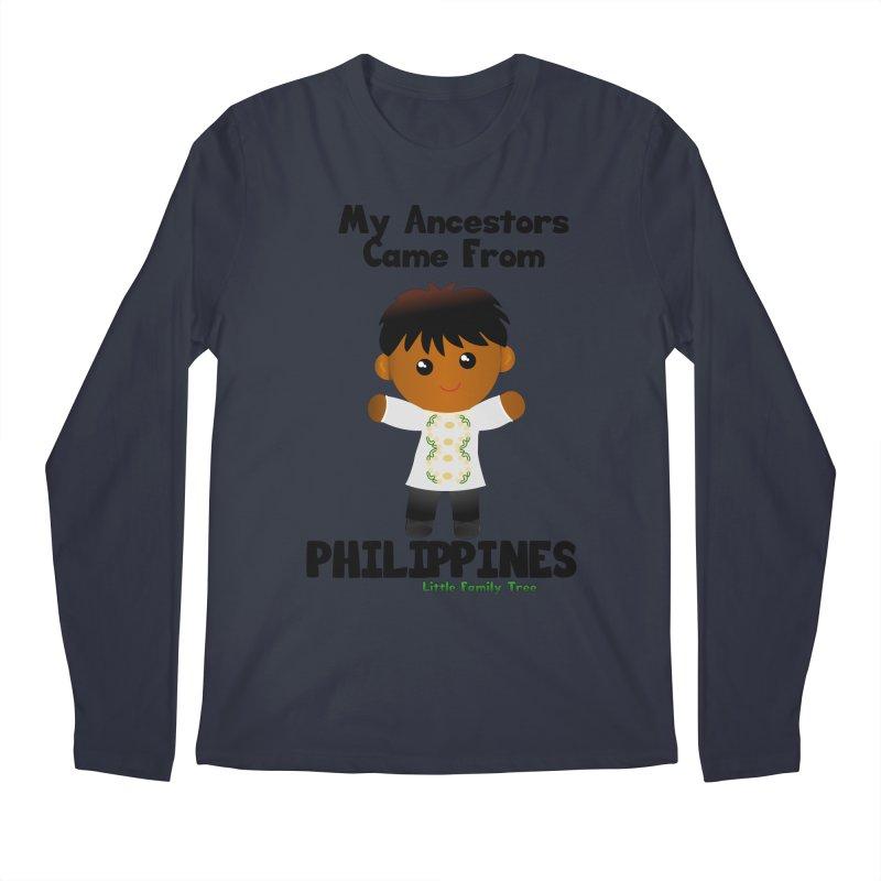 Philippines Ancestors Boy Men's Longsleeve T-Shirt by Yellow Fork Tech's Shop