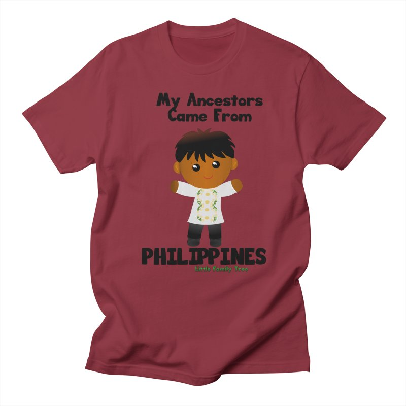 Philippines Ancestors Boy Men's T-Shirt by Yellow Fork Tech's Shop