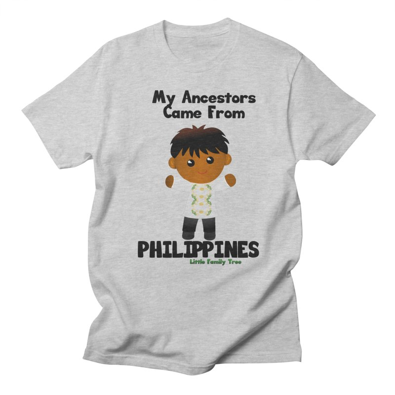 Philippines Ancestors Boy Men's T-shirt by Yellow Fork Tech's Shop