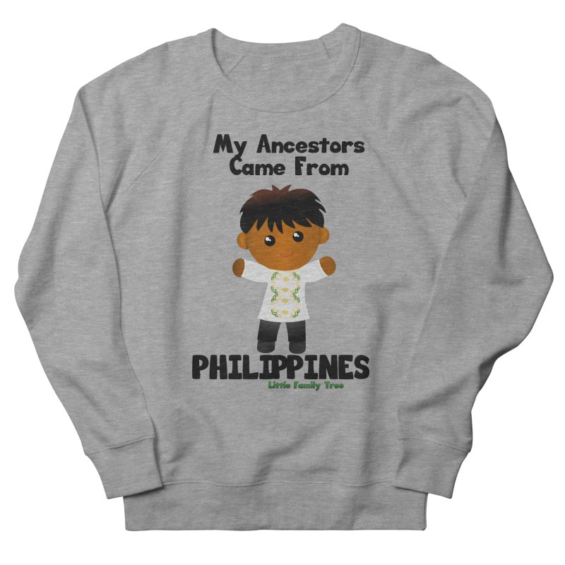 Philippines Ancestors Boy Men's Sweatshirt by Yellow Fork Tech's Shop