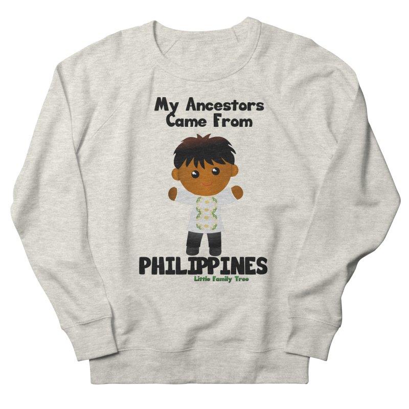 Philippines Ancestors Boy Men's Sweatshirt by Yellow Fork Tech's Shop