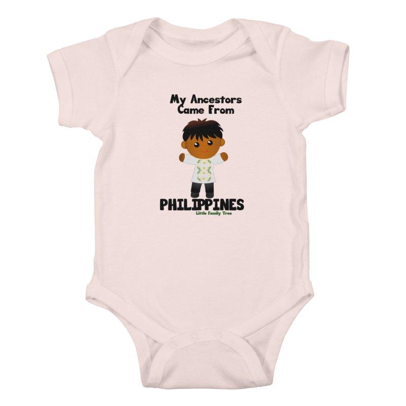 Philippines Ancestors Boy Kids Baby Bodysuit by Yellow Fork Tech's Shop