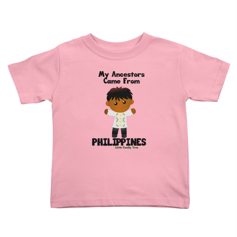 Philippines Ancestors Boy Kids Toddler T-Shirt by Yellow Fork Tech's Shop