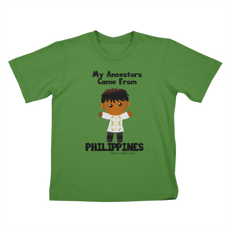 Philippines Ancestors Boy Kids T-Shirt by Yellow Fork Tech's Shop