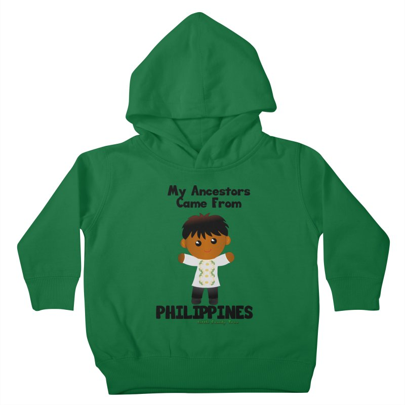 Philippines Ancestors Boy Kids Toddler Pullover Hoody by Yellow Fork Tech's Shop