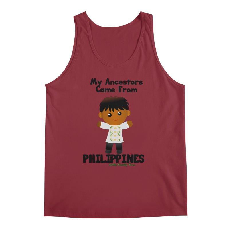 Philippines Ancestors Boy Men's Tank by Yellow Fork Tech's Shop