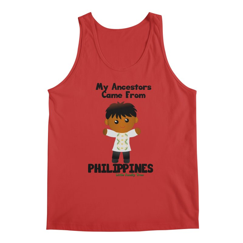 Philippines Ancestors Boy Men's Tank by Yellow Fork Tech's Shop