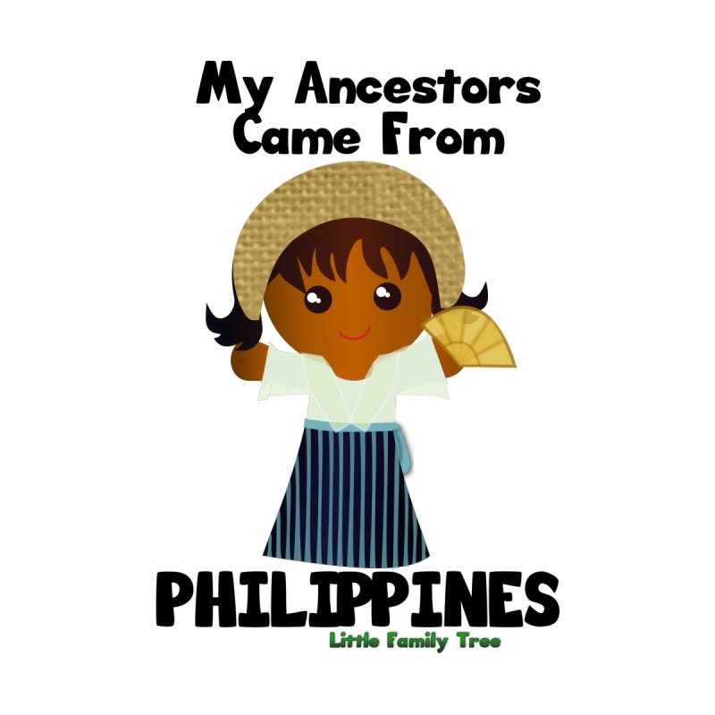 Philippines Ancestors Girl Women's Longsleeve Scoopneck  by Yellow Fork Tech's Shop