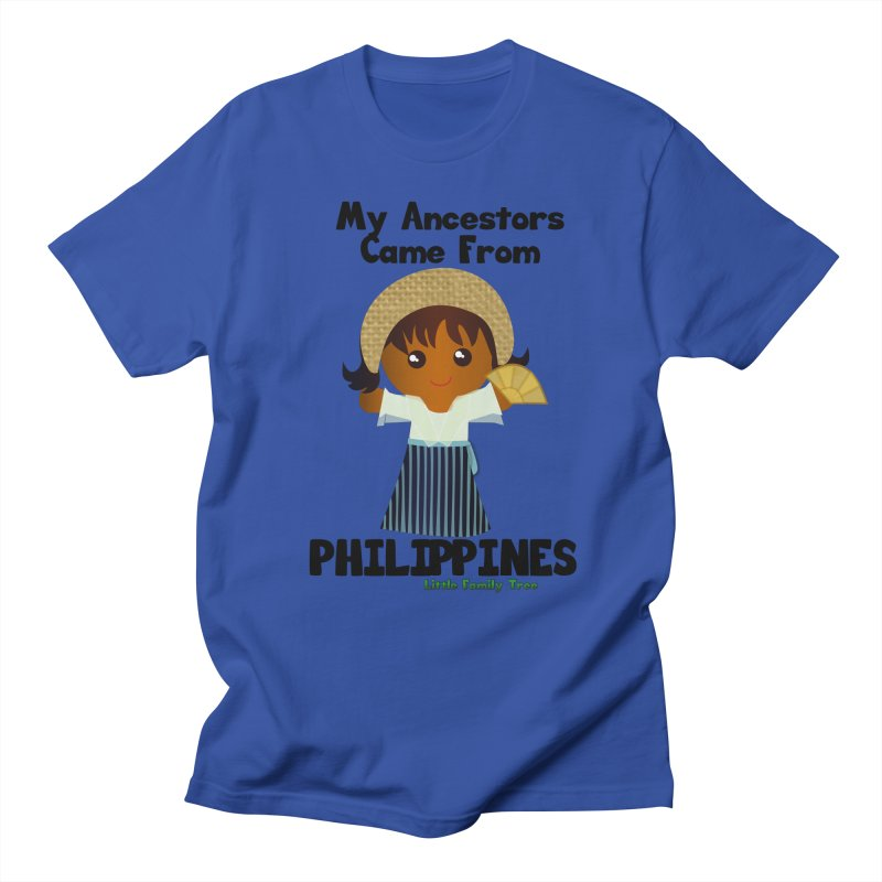 Philippines Ancestors Girl Women's Unisex T-Shirt by Yellow Fork Tech's Shop