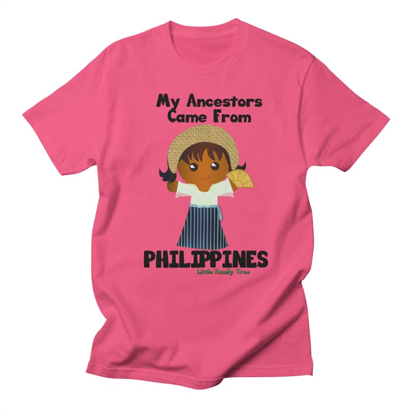Philippines Ancestors Girl Women's Unisex T-Shirt by Yellow Fork Tech's Shop