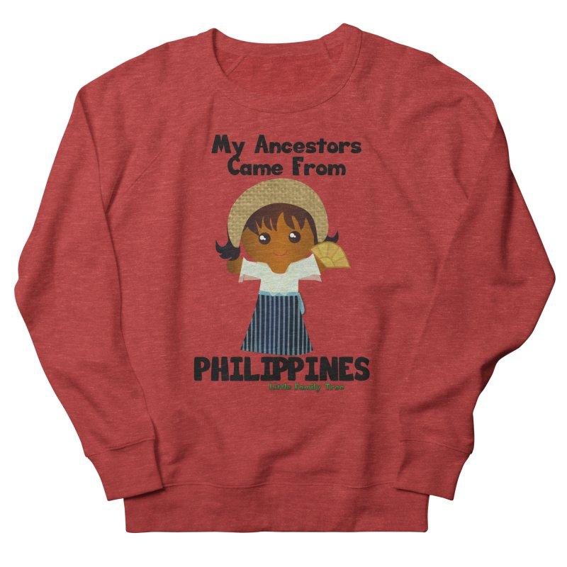 Philippines Ancestors Girl Women's Sweatshirt by Yellow Fork Tech's Shop