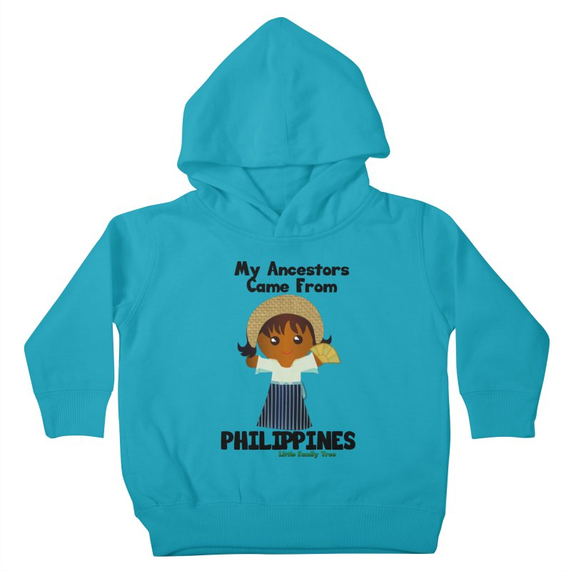 Philippines Ancestors Girl Kids Toddler Pullover Hoody by Yellow Fork Tech's Shop
