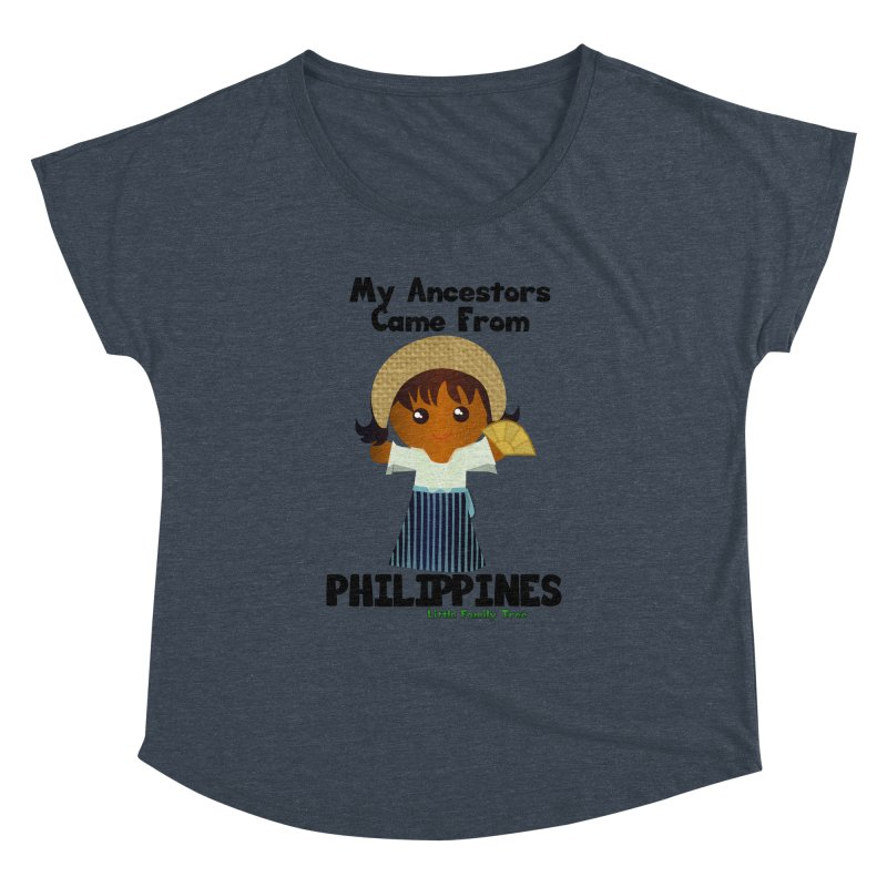 Philippines Ancestors Girl Women's Dolman by Yellow Fork Tech's Shop