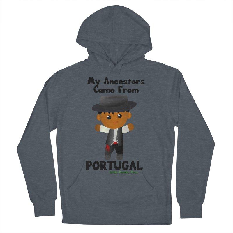 Portugal Ancestors Boy Men's Pullover Hoody by Yellow Fork Tech's Shop