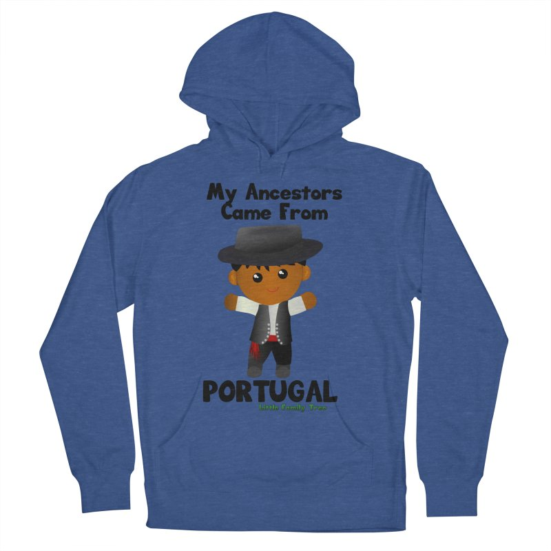 Portugal Ancestors Boy Men's Pullover Hoody by Yellow Fork Tech's Shop