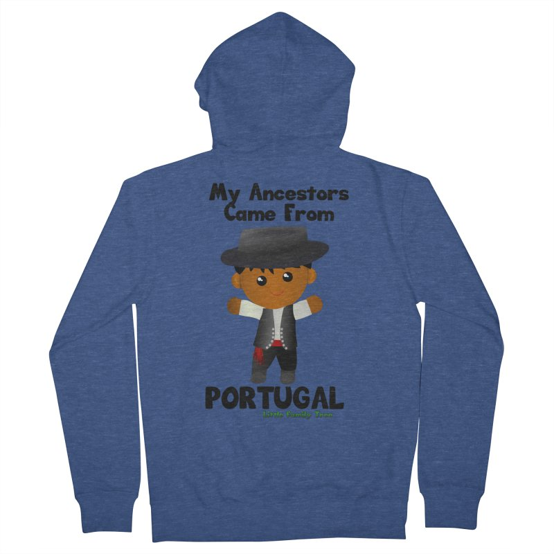 Portugal Ancestors Boy Men's Zip-Up Hoody by Yellow Fork Tech's Shop