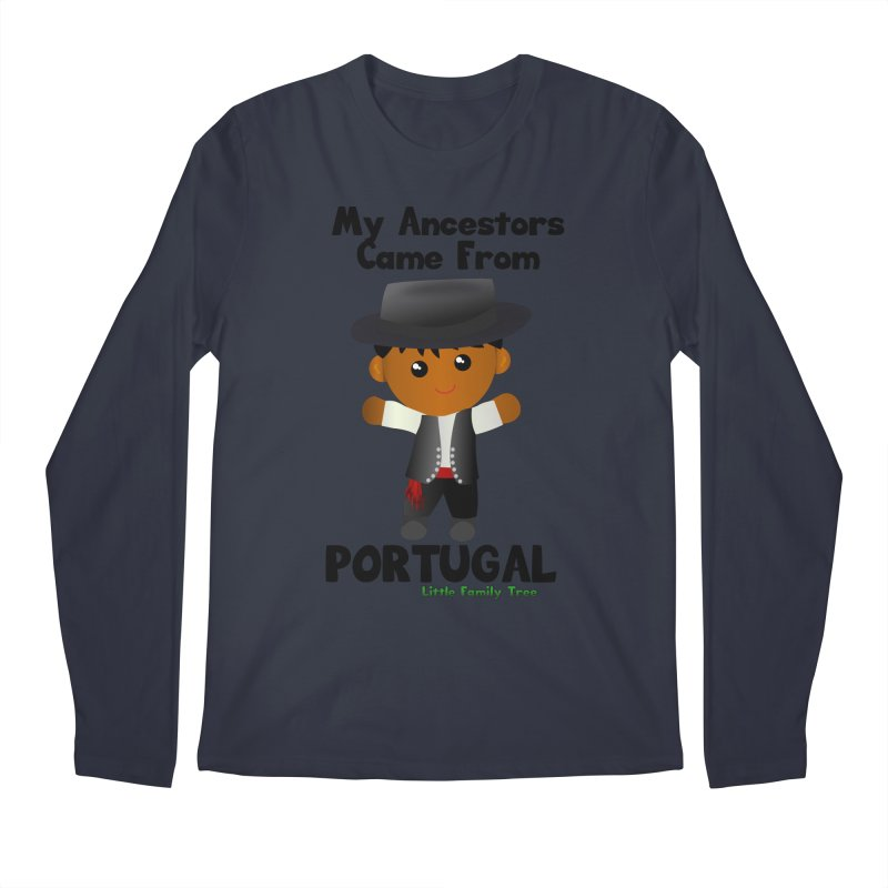 Portugal Ancestors Boy Men's Longsleeve T-Shirt by Yellow Fork Tech's Shop