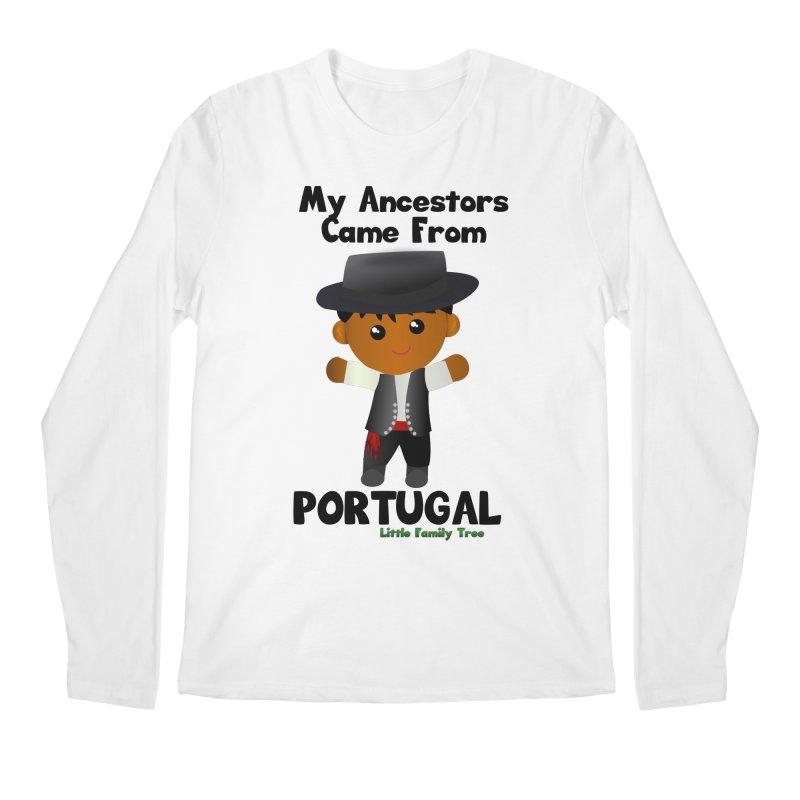 Portugal Ancestors Boy Men's Longsleeve T-Shirt by Yellow Fork Tech's Shop